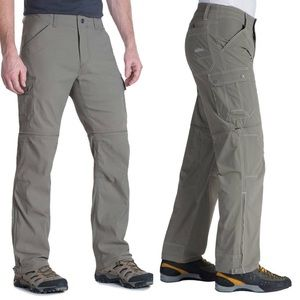 NWT Kuhl Renegade Cargo Convertible Hiking Pants